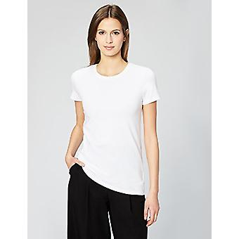 Marque - Daily Ritual Women-apos;s Stretch Supima Short-Sleeve Crew Neck T-S...