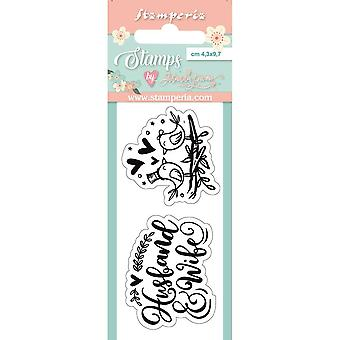 Stamperia Birds Clear Stamps