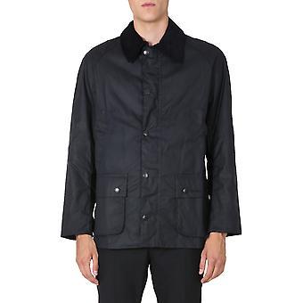 Barbour Mwx0339ny92 Men's Blue Cotton Outerwear Jacket