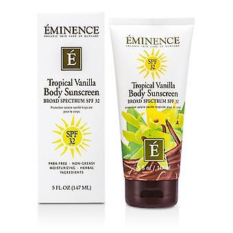 Eminence tropische vanille lichaam SPF 32 147ml / 5oz