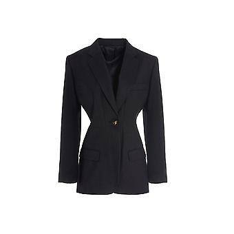 Attico 202wcg05w013084 Damen's Graue Wolle Blazer