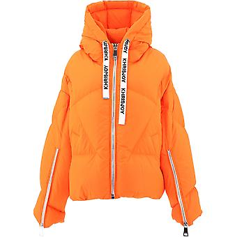 Khrisjoy Afpw001of01 Femmes's Orange Polyester Down Jacket