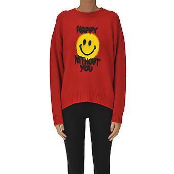 Filosofia Por Lorenzo Serafini Ezgl205045 Women's Red Wool Sweater