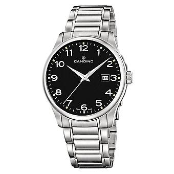 Candino C4456-4 Men's Black Dial With Date Wristwatch