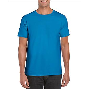 GILDAN G64000 Softstyle Męska koszulka w kolorze Sapphire Blue