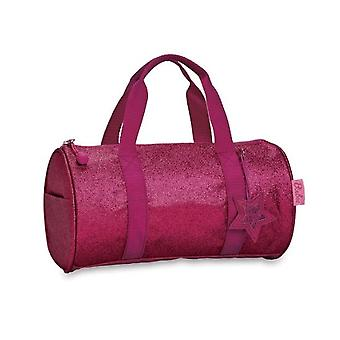 Sparkalicious Ruby Raspberry Duffle (Large)