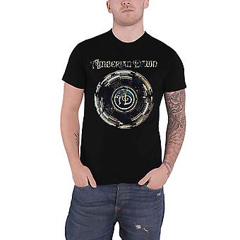 Amberian Dawn T Shirt Looking For You Band Logo new Official Mens Black
