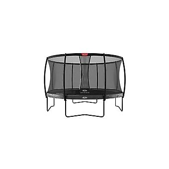 berg elite regular grey 330 11ft + safety net deluxe trampoline