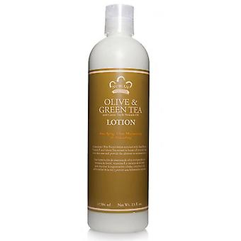 Nubian Heritage Body Lotion, Olive and Green Tea 13 OZ