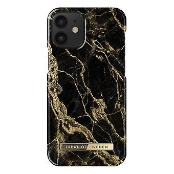 iDeal Of Sweden iPhone 12 Mini Shell - Golden Smoke Marble