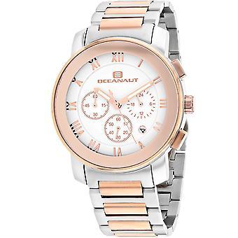 Oceanaut Men's Reloj de marcación blanca riviera - OC0337