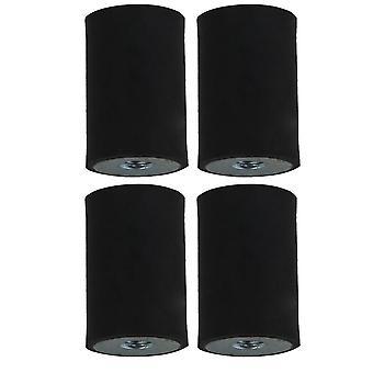 4x Rubber Shock Absorber 20x30MM Anti-shock M6 Thread Mounts Isolators