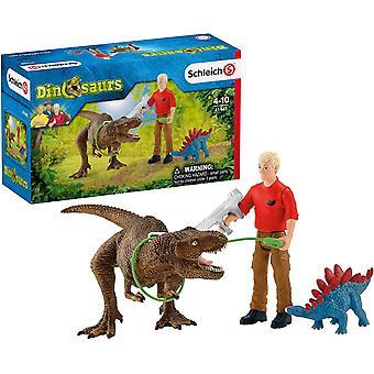 Attaque de Schleich Tyrannosaurus Rex