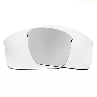 Replacement Lenses for Oakley Wiretap Sunglasses Anti-Scratch Crystal Clear