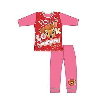 Bambi Tytöt Pyjama Setti