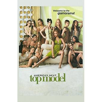 Americas Top vorwärts Modell Movie Poster (11 x 17)