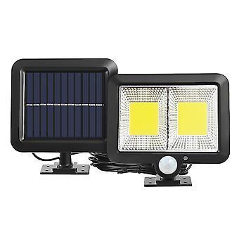 Cob Solar Wandleuchte Pir Motion Sensor Outdoor wasserdichtGarten Solarstrom