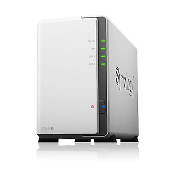 Serveur nas synology ds-218j blanco