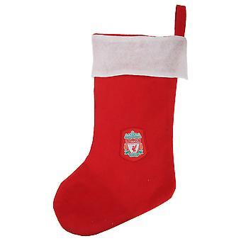 Liverpool FC Official Football Crest Christmas Stocking