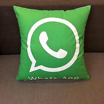 Whats App Pillow
