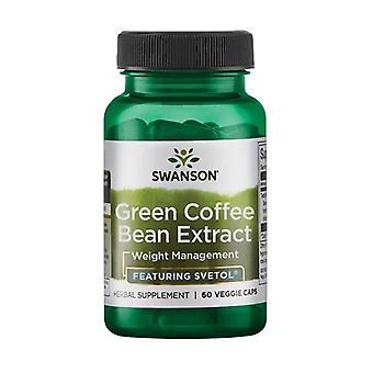 Beste gewichtscontrole formules groene koffie bonen extract - met svetol 200 mg 60 plantaardige capsules van 200mg