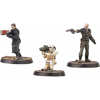 Fallout Wasteland Warfare Institute Hemliga Operatives