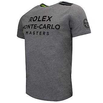 Sergio Tacchini Mens New Irune T-Shirt Rolex Graphic Top Grey 38491 922