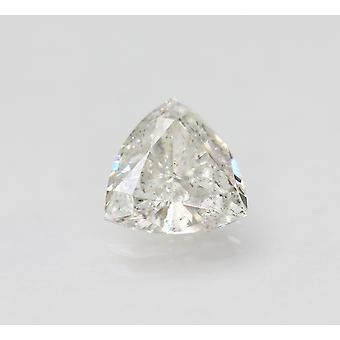 Certified 1.03 Carat G VS2 Trilliant Enhanced Natural Loose Diamond 7.34x7.14mm