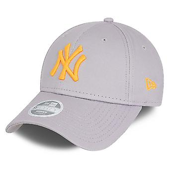 New Era 9Forty Women's Cap - New York Yankees grey / orange