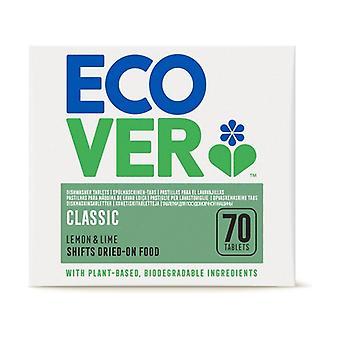 Dishwasher Detergent Machine XL Ecover 70 tablets