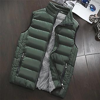 Spring Autumn Men Vest, Sleeveless Jacket, Men Winter Waistcoat, Casual Coats