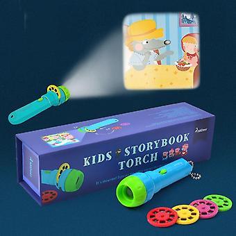 Storybook Torch Projector Kaleidoscope Kids Sky Light Up Baby Kids
