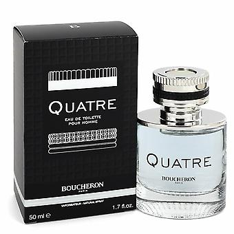 Quatre by Boucheron Eau De Toilette Spray 1.7 oz / 50 ml (Miehet)