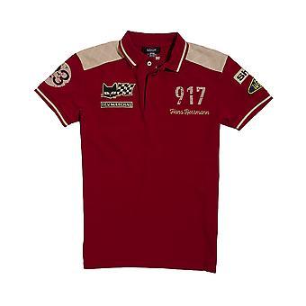 Warson Motors Herrmann Red Polo Shirt Mens