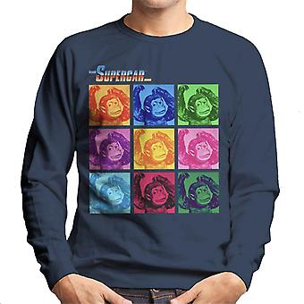 Supercar Mitch The Monkey Men's Sweatshirt