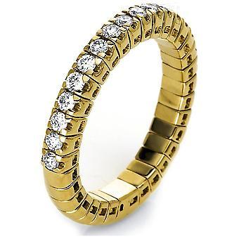 Luna Creación Promessa Ring Memoire Half 1J210G854-3 - Ancho del anillo: 54