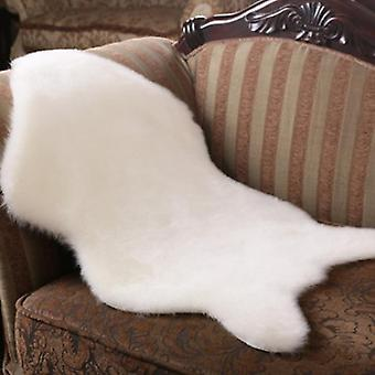Faux Fur Sheepskin Rug Faux Fleece Chair Cover Seat Cushion Soft Home Decor