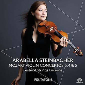 Mozart - Violin Cons 3 4 & 5 [SACD] USA import