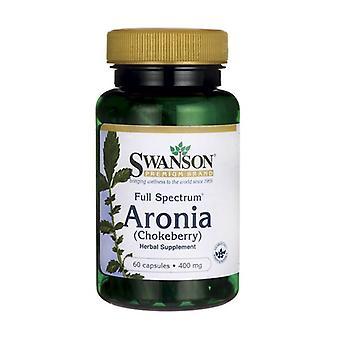 Full Spectrum Aronia (Chokeberry), 400mg 60 capsules