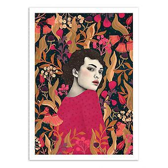 Kunstplakat - Muna - Sofia Bonati