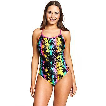 Zoggs Toggs Dreamer Rettice Back Swimsuit