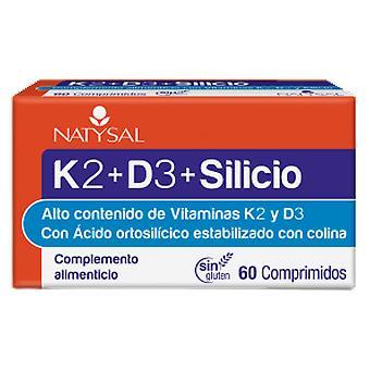Natysal Vitamina K2 D3 Silicio 60 Comp