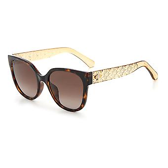 Kate Spade Asian Fit RYLEIGH/G/S 086/HA Havana/Brown Gradient Sunglasses