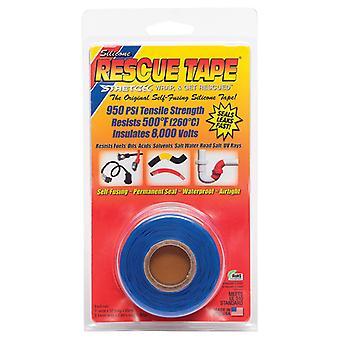 """Rescue Tape 1"""" X 12' Blu"""