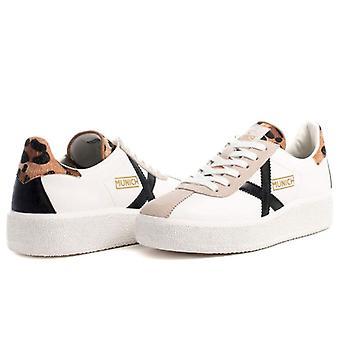 Sneaker Donna Munich Barru Sky 46 Bianca E Maculata