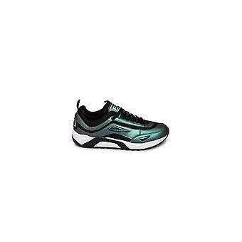 Emporio Armani EA7 Black Scarab Sneaker Trainer