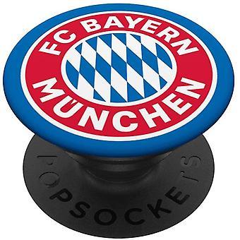 FC Bayern Mnchen Logo PopSockets PopGrip: Ausziehbarer Sockel und Griff fr Handys/Tablets mit