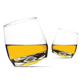 2 Gyngende whiskyglass | &M&W