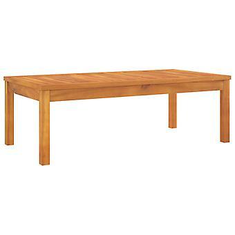 vidaXL sohvapöytä 100x50x33 cm massiivipuu akasia