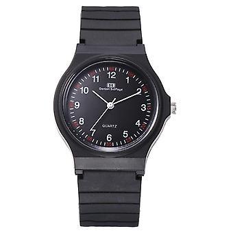 Zegarek Unisex, Silikonowy zegarek sportowy, analogowy kwarc, zegarki dla dzieci, zegar studencki